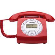 TELEFONE COM FIO TC 8312 VERMELHO
