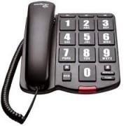 Telefone Intelbras com fio com teclas grandes  para Idoso ToK Fácil