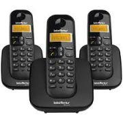 TELEFONE SEM FIO INTELBRAS TS 3113 MAIS 2 RAMAIS