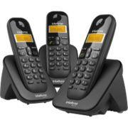 TELEFONE SEM FIO TS 3113 PRETO INTELBRAS