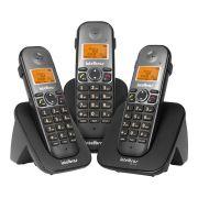 TELEFONE SEM FIO TS 5123 PRETO INTELBRAS