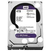 Disco Rígido WD Purple 4TB para CFTV WD40PURZ