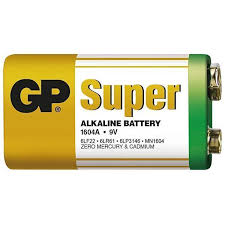 BATERIA DE 9V GP SUPER ALKALINE  - Sandercomp Virtual