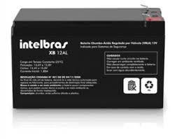 BATERIA INTELBRAS XB 12AL 12 V PARA SISTEMAS DE SEGURANÇA  - Sandercomp Virtual