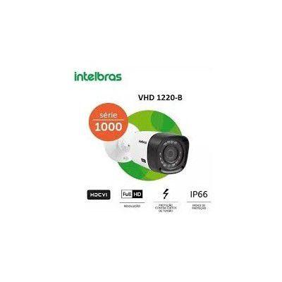 CAMERA DE SEGURANÇA BULLET FULL HD 1080P HDCVI 20 MTS VHD 1220B COM INFRA VERMELHO INTELBRAS  - Sandercomp Virtual