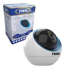 Camera de Segurança Inteligente Ip Sem fio Wifi Robozinho com Audio e Microfone Tw 9110Rb   - Sandercomp Virtual