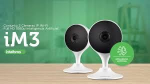 Camera de Segurança Interna Inteligente Ip Full Hd Sem Fio Wifi com Microfone e Audio Im3 Intelbras  - Sandercomp Virtual