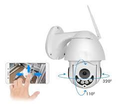 Câmera de Segurança Ip Mini Speed Dome Sem Fio Wireless Full Hd Hd 2MP Cam 5707 Inova  - Sandercomp Virtual
