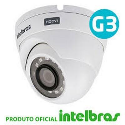 CAMERA DE SEGURANÇA INTELBRAS DOME MULTI HD VHD 1120D 20 METROS COM INFRAVERMELHO  - Sandercomp Virtual