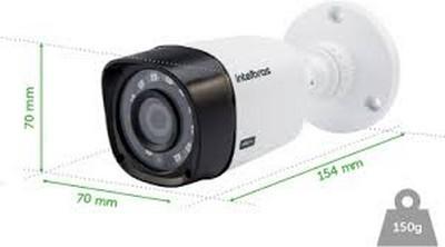 CAMERA DE SEGURANÇA INTELBRAS MULTI HD VHD 1120B  20 METROS COM INFRA VERMELHO  - Sandercomp Virtual