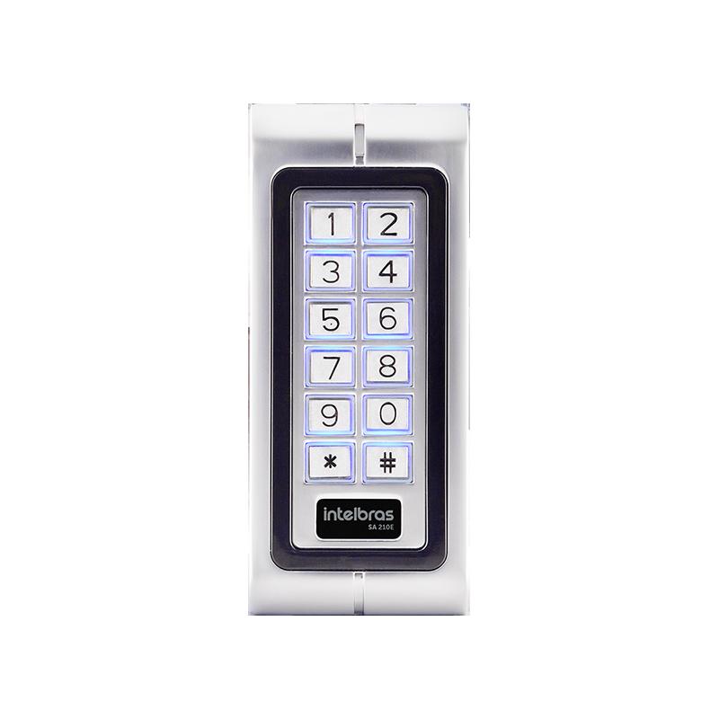 CONTROLE DE ACESSO STAND-ALONE SA 210E (TECL/125KHZ/WIE26) INTELBRAS  - Sandercomp Virtual