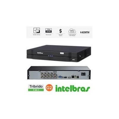 DVR STAND ALONE  INTELBRAS  DE 8 CANAIS MULTI HD MHDX 1008   - Sandercomp Virtual