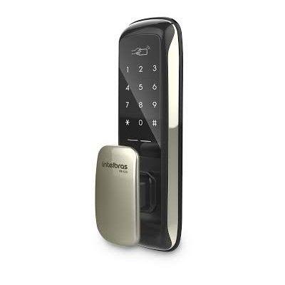 Fechadura Digital Push & Pull FR 620 Abertura com Senha e Aproximação Intelbras  - Sandercomp Virtual