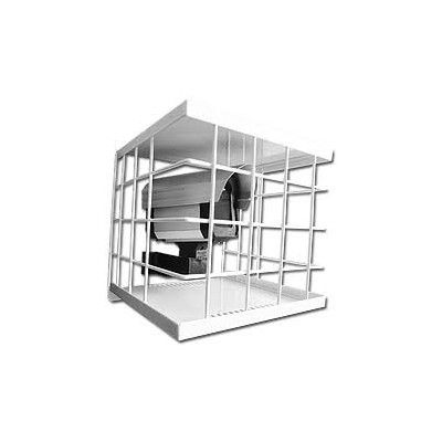 GRADE DE PROTEÇÃO ANTI VANDALISMO QUADRADA PARA CAMERAS DE SEGURANÇA 20X20  - Sandercomp Virtual