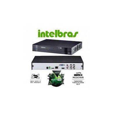 Gravador Digital de Vídeo Digital Dvr 1108 de 8 Canais Hd Multi Hd Intelbras  - Sandercomp Virtual
