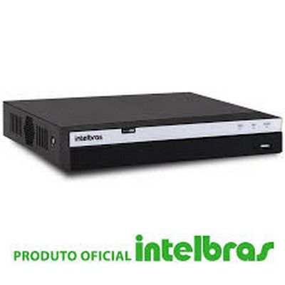 Gravador Digital de Vídeo Digital Dvr Mhdx 3104 Série 3000 de 4 Canais Full Hd Multi Hd 5 em 1 Intelbras  - Sandercomp Virtual