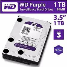 HD INTERNO WESTER DIGITAL PURPLE 1TB  - Sandercomp Virtual