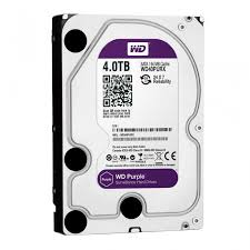 HD INTERNO 4TB WESTER DIGITAL PURPLE   - Sandercomp Virtual