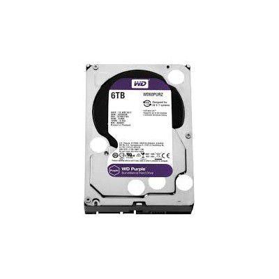 HD INTERNO WD SATA 3,5` PURPLE SURVEILLANCE 6TB INTELLIPOWER 64MB CACHE SATA 6.0GB/S - WD60PURZ I  - Sandercomp Virtual