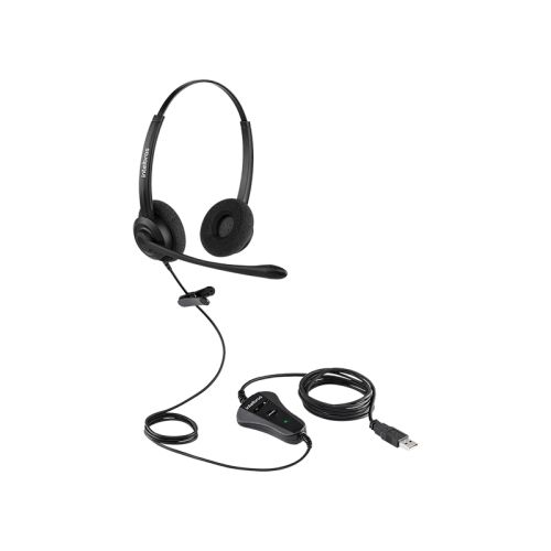 HEADSET CHS 60B USB  - Sandercomp Virtual