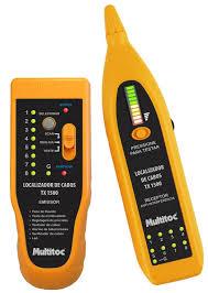 Kit Localizador e Testador De Cabos com Emissor e Receptor Tx1500 Multitoc  - Sandercomp Virtual