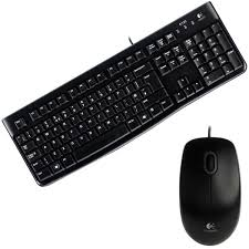 KIT TECLADO E MOUSE USB MK120 PRETO LOGITECH - Sandercomp Virtual