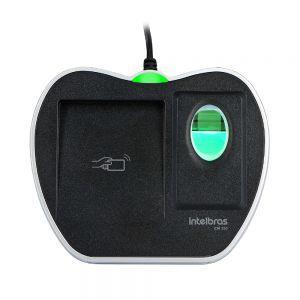 LEITOR CADASTRADOR BIOMETRICO COM RFID CM 350  - Sandercomp Virtual