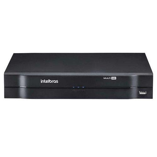 MHDX 1104 C/ HD 6TB - GRAV. DIG. DE VÍDEO 4 CANAIS 1080p LITE - INTELBRAS MULTI-HD® SÉRIE 1000 - H.265, H.265+, Nova interface gráfica, HDCVI + HDTVI + AHD + IP + ANALÓGICO com HD de 6TB instalado - P  - Sandercomp Virtual