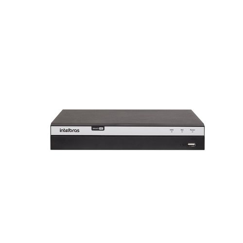 MHDX 3104 C/ HD 10TB - GRAV. DIG. DE VÍDEO 4 CANAIS 4MP LITE - INTELBRAS MULTI-HD® SÉRIE 3000 - H.265, H.265+, Nova interface gráfica, Inteligência de vídeo, HDCVI + HDTVI + AHD + IP + ANALÓGICO com H  - Sandercomp Virtual