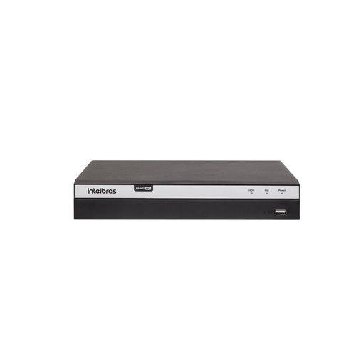 MHDX 3104 C/ HD 8TB - GRAV. DIG. DE VÍDEO 4 CANAIS 4MP LITE - INTELBRAS MULTI-HD® SÉRIE 3000 - H.265, H.265+, Nova interface gráfica, Inteligência de vídeo, HDCVI + HDTVI + AHD + IP + ANALÓGICO com HD  - Sandercomp Virtual