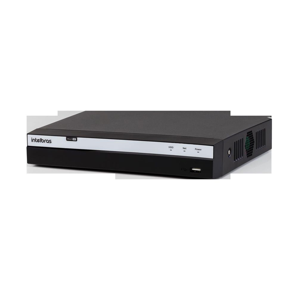 MHDX 3108 C/ HD 2TB - GRAV. DIG. DE VÍDEO 8 CANAIS 4MP LITE - INTELBRAS MULTI-HD® SÉRIE 3000 - H.265, H.265+, Nova interface gráfica, Inteligência de vídeo, HDCVI + HDTVI + AHD + IP + ANALÓGICO com HD  - Sandercomp Virtual