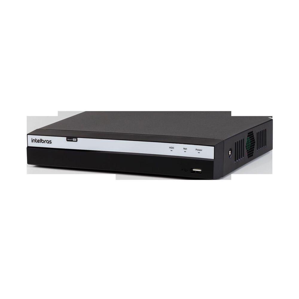 MHDX 3108 - GRAV. DIG. DE VÍDEO 8 CANAIS 4MP LITE - INTELBRAS MULTI-HD® SÉRIE 3000 - H.265, H.265+, Nova interface gráfica, Inteligência de vídeo, HDCVI + HDTVI + AHD + IP + ANALÓGICO  - Sandercomp Virtual