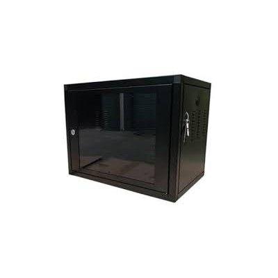 """Mini Rack Padrão de Parede 5Us de 19"""" de polegadas Cftv  e Servidor  - Sandercomp Virtual"""