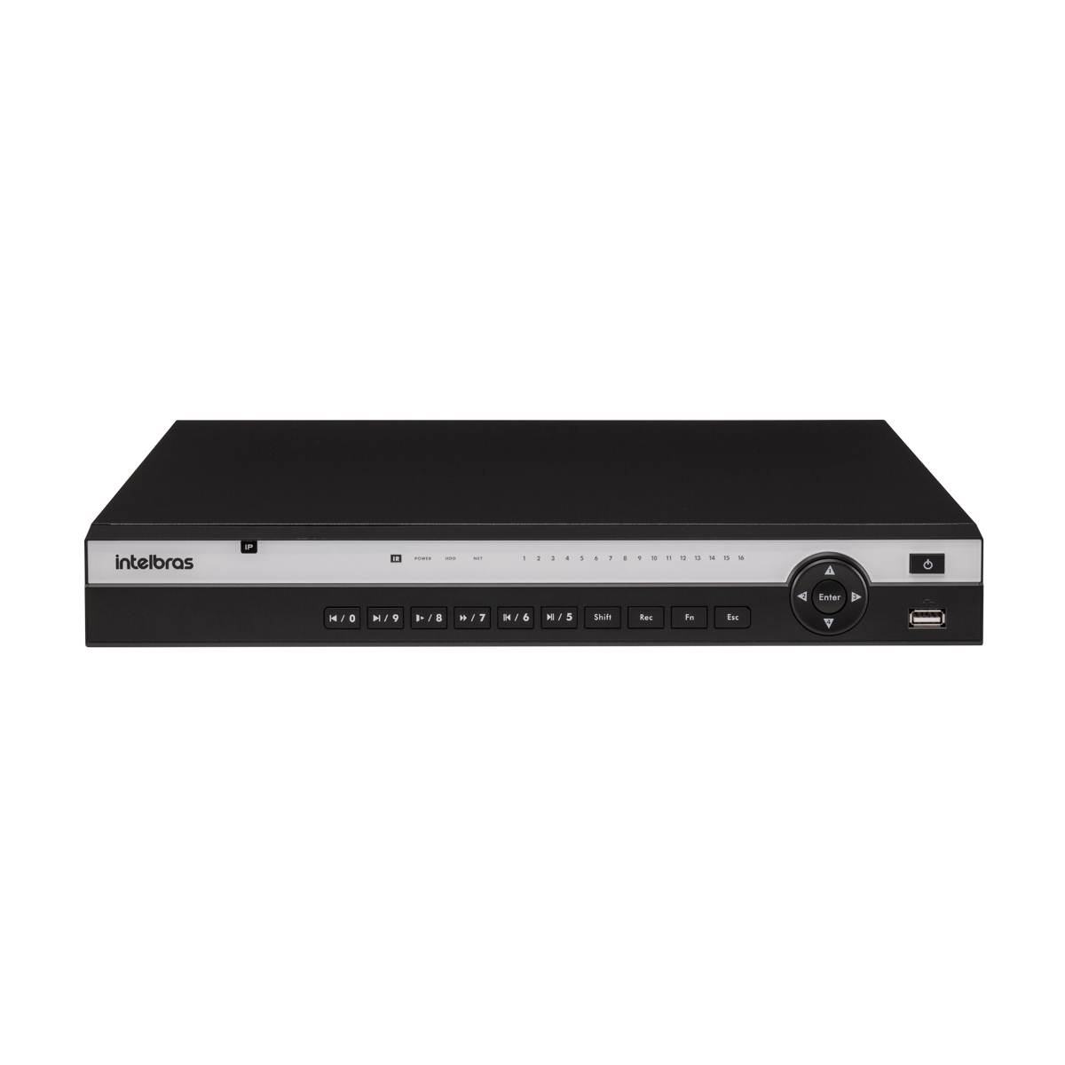 NVD 3116 COM HD 4TB - GRAV. DIG. DE VÍDEO EM REDE PARA ATÉ 16 CANAIS IP EM FULL HD @ 30 FPS, INTELIGÊNCIA DE VÍDEO EM TODOS OS CANAIS, H.265, SUPORTE PARA 2HDS E SUPORTA CÂMERAS COM RESOLUÇÃO 4K - PRO  - Sandercomp Virtual