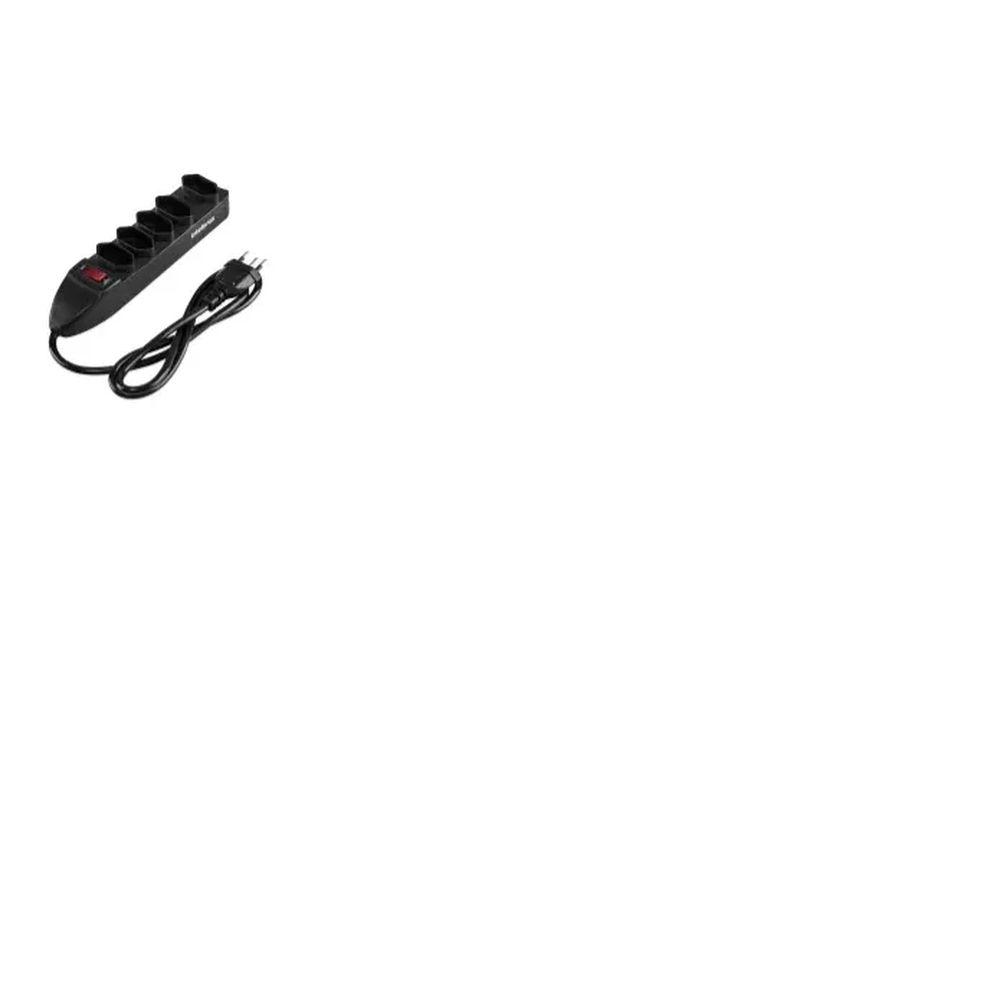 Protetor Eletrônico com 5 Tomadas - EPE 1005+ PT Intelbras  - Sandercomp Virtual
