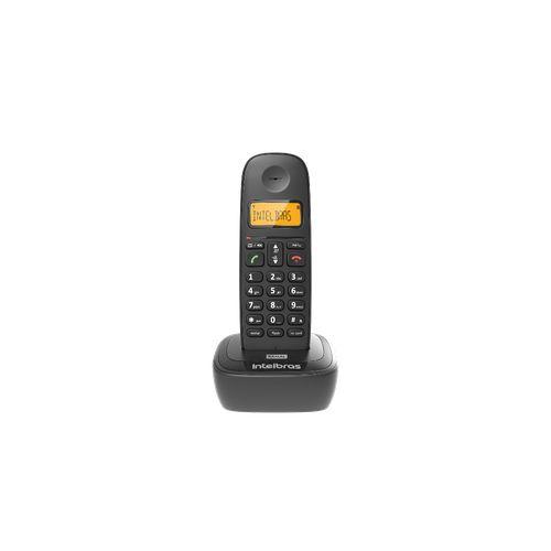 RAMAL TELEFONE SEM FIO TS 2511 PRETO  - Sandercomp Virtual