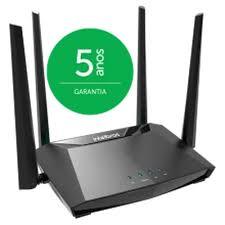 Roteador Wi-Fi 5 Dual Band AC 1200 com porta WAN giga e LAN Fast Intelbras  - Sandercomp Virtual