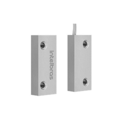 Sensor Magnético c/Fio XAS Porta Aço Mini Intelbras  - Sandercomp Virtual