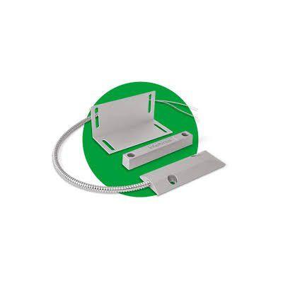 SENSOR MAGNÉTICO DE ABERTURA COM FIO DE PORTA DE AÇO SP XAS INTELBRAS  - Sandercomp Virtual