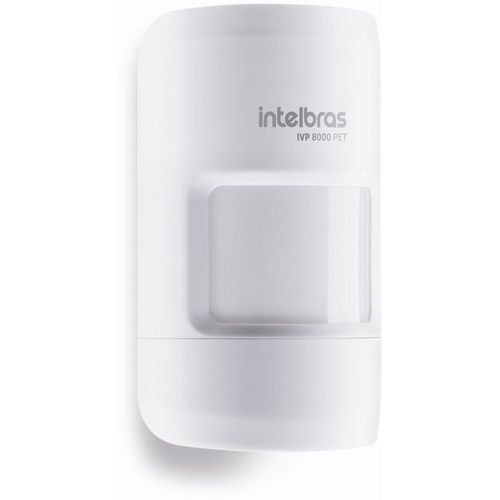 SENSOR PASSIVO SEM FIO IVP 8000 PET INTELBRAS  - Sandercomp Virtual