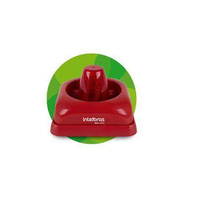 SINALIZADOR AUDIO VISUAL CONVENCIONAL SAV 420C DA INTELBRAS  - Sandercomp Virtual