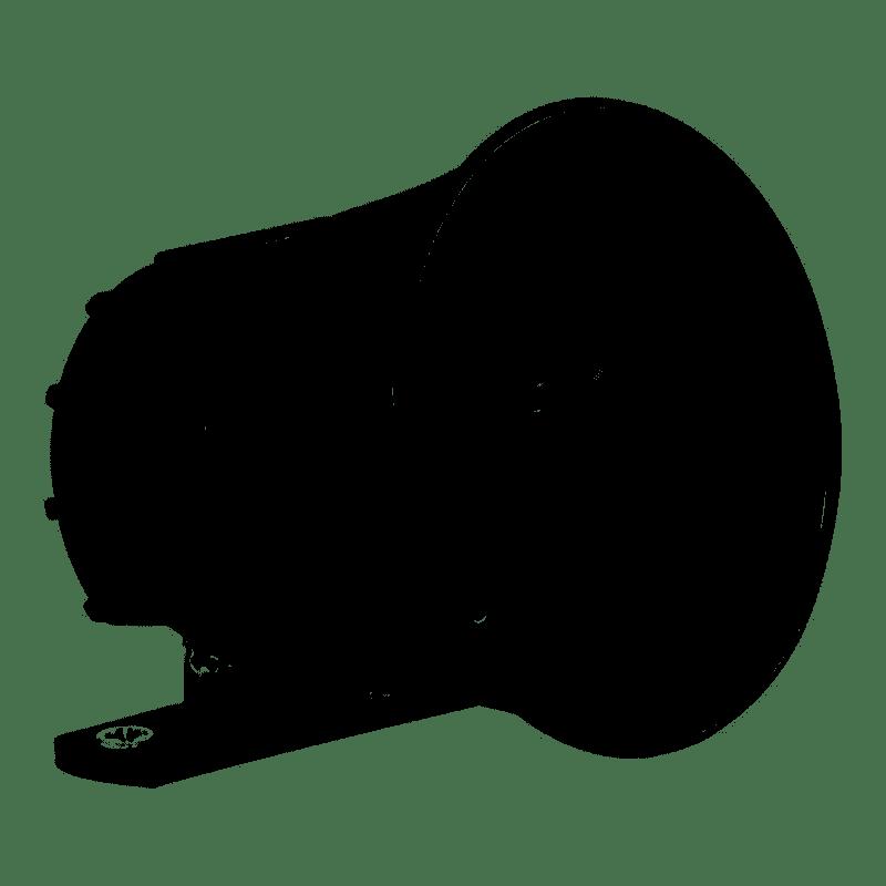 SIRENE 105 dB SIR 1000 - PRETA  - Sandercomp Virtual