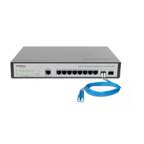 SWITCH GERENCIAVEL 24P GIGA 4P MINI-GBIC - SG 2404 PoE INTELBRAS  - Sandercomp Virtual