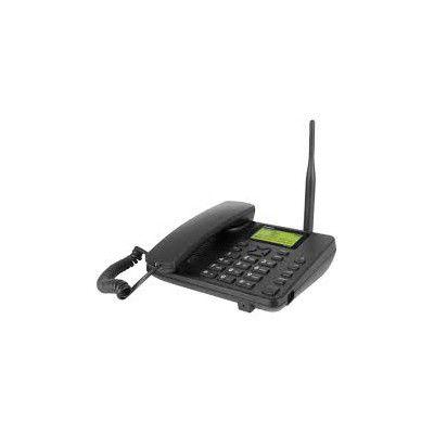 TELEFONE CELULAR FIXO GSM COM ANTENA 2 CHIPS CF 4202 INTELBRAS  - Sandercomp Virtual
