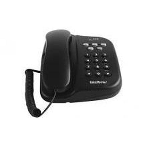 TELEFONE COM FIO TC 500 PRETO C/ CHAVE                       - Sandercomp Virtual