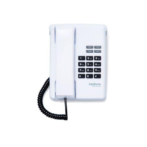 TELEFONE COM FIO TC 50 PREMIUM BRANCO INTELBRAS                  - Sandercomp Virtual