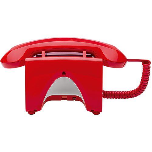 TELEFONE COM FIO TC 8312 VERMELHO  - Sandercomp Virtual