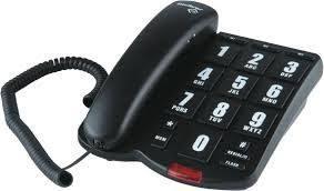 Telefone Intelbras com fio com teclas grandes  para Idoso ToK Fácil   - Sandercomp Virtual