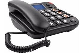 Telefone Intelbras Tok Facil Id para Idosos E Deficientes com Display  - Sandercomp Virtual