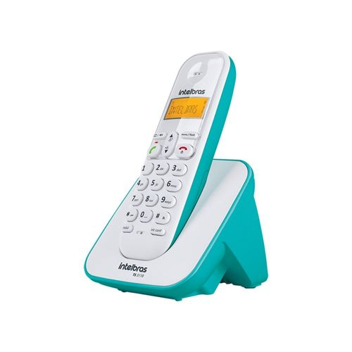 TELEFONE SEM FIO TS 3110 BRANCO E AZUL CLARO INTELBRAS  - Sandercomp Virtual